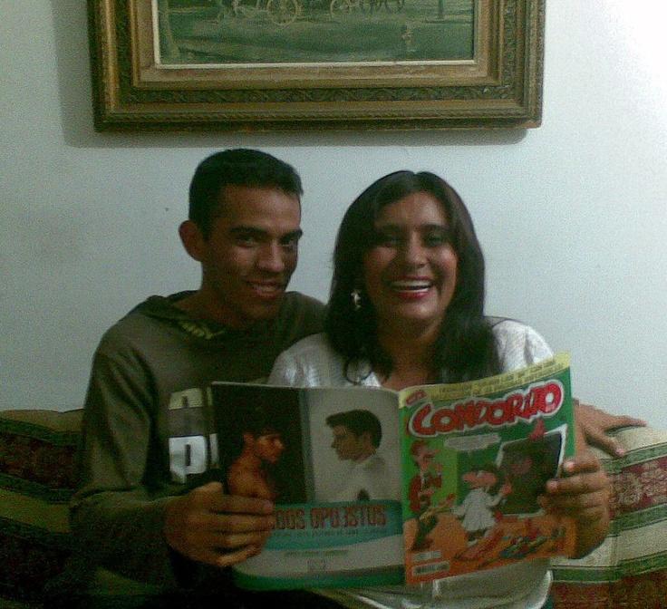 Un gran saludo a la madre de Julio Mavarez Perez y a él también!