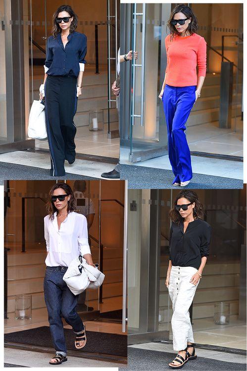 Street style : les looks de Victoria Beckham a la Fashion Week de New York…