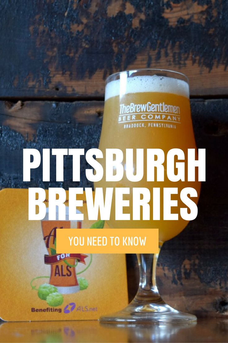 Beers and breweries that put Pittsburgh on