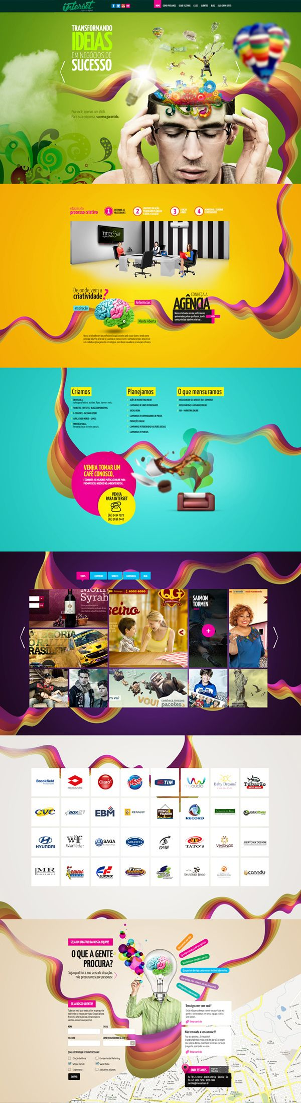 Unique Web Design, Interset Agency #webdesign #design (http://www.pinterest.com/aldenchong/)