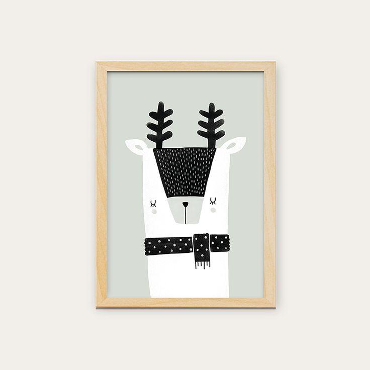 Posters disponíveis em vários formatos. Para comprar entre em contato com o pessoal da @in8_home #kidsdecor #quartoinfantil #decoracaobebe #frames #walldecor #kids #artwork #crianca #decoracao #arcoiris #interiores #love #in8home #quartobebe #quadros #poster #parededivertida #estudiomanolo #cervo