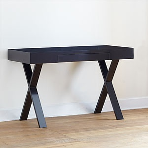 Black Josephine Desk from World Market, $199.99. (Also comes in white).