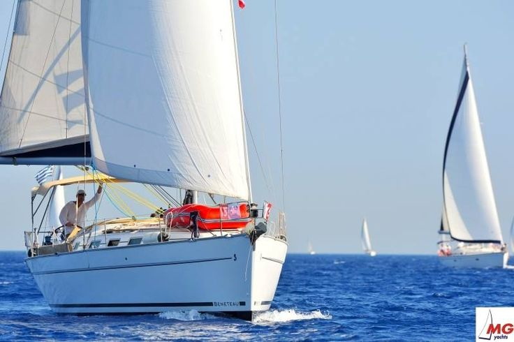 Sailing in Lefkada with MG Yachts