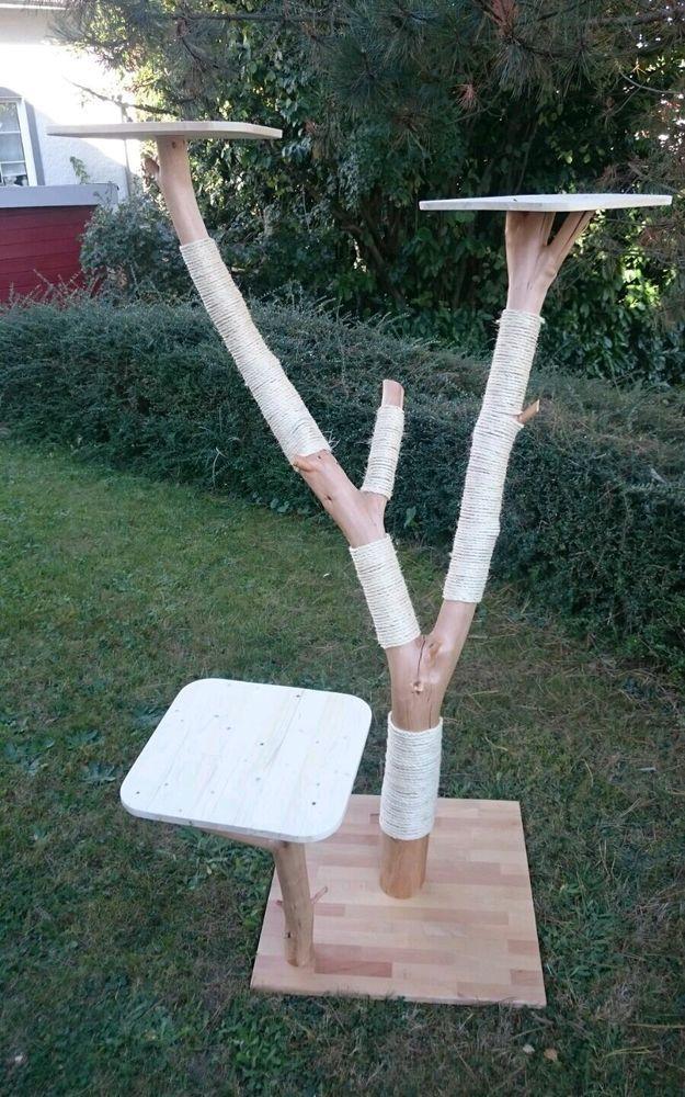 1000 ideen zu kratzbaum natur auf pinterest katzenb ume. Black Bedroom Furniture Sets. Home Design Ideas
