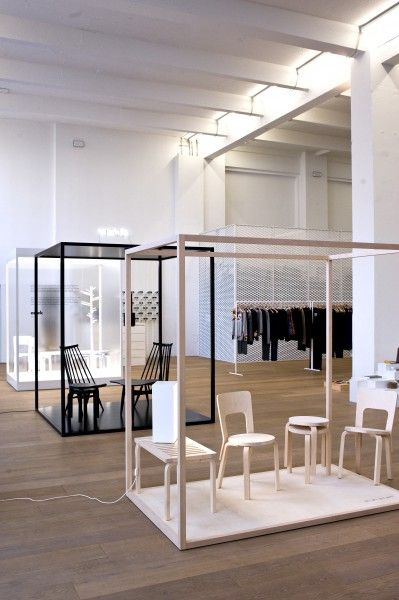 Artek - News & Events - Artek exhibition at Murkudis