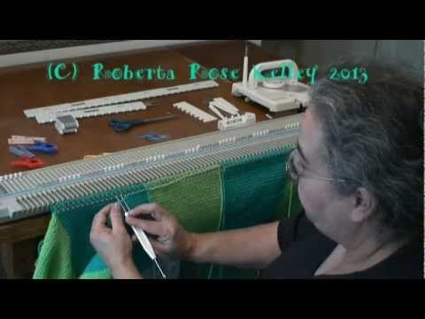 Seaming on the Machine - YouTube