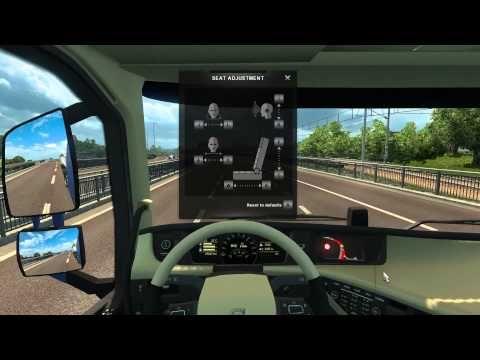 #1 Euro Truck Silmulator 2 driving new VOLVO from uppsala Stockholm rye