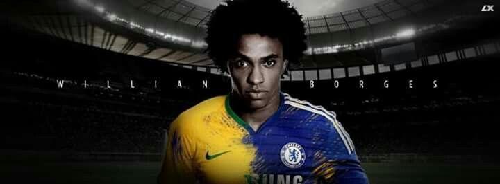 Willian !!! #Chelsea #Brazil