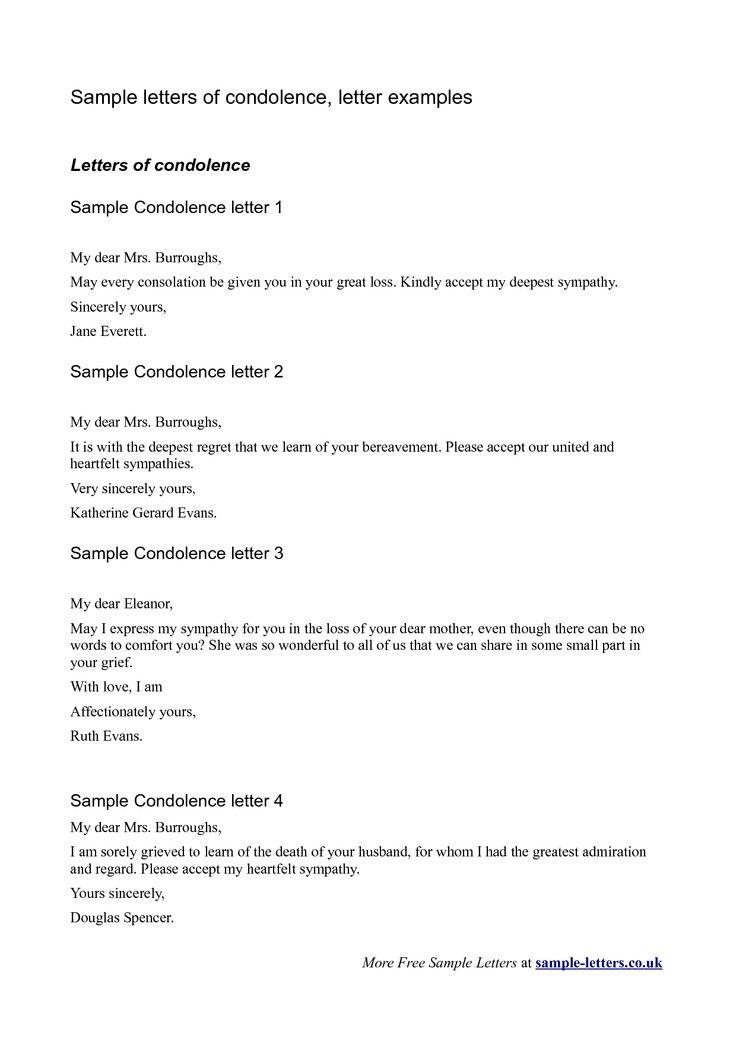Best 25+ Sympathy letter ideas on Pinterest | Letter from heaven ...