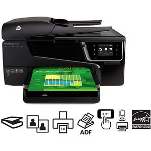 HP Officejet 6600 Inkjet Multifunction Printer/Copier/Scanner/Fax Machine