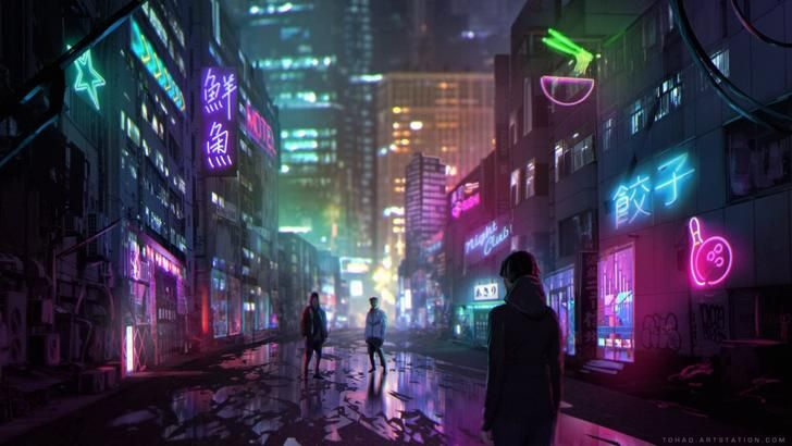Cyberpunk Anime 80 S Pixel Art Futuristic Imgur