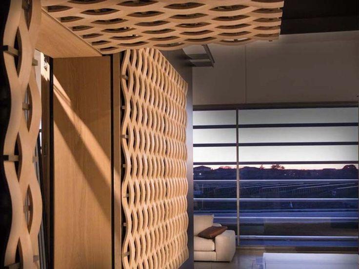 Sonnenschutzlamelle aus Bronze Sonnenschutzlamelle by ISAM Italian Exclusive Windows and Doors | Design Ferruccio Laviani