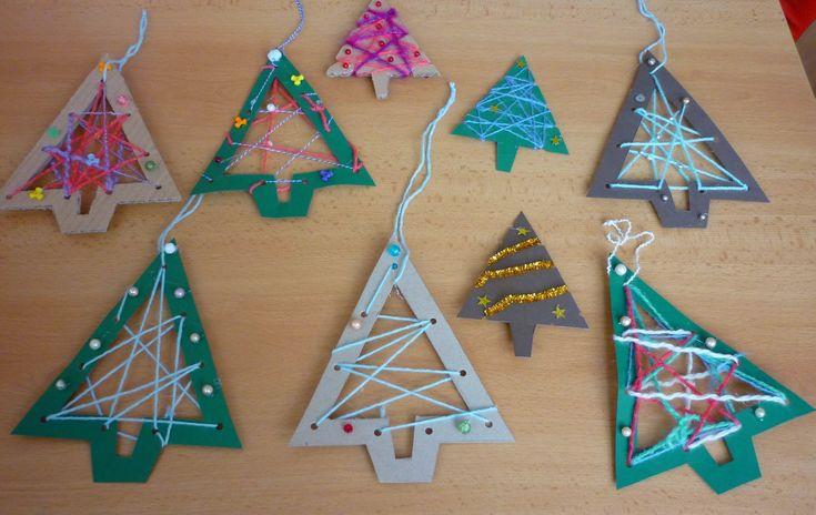Výsledek obrázku pro vánoční tvoření s dětmi návod