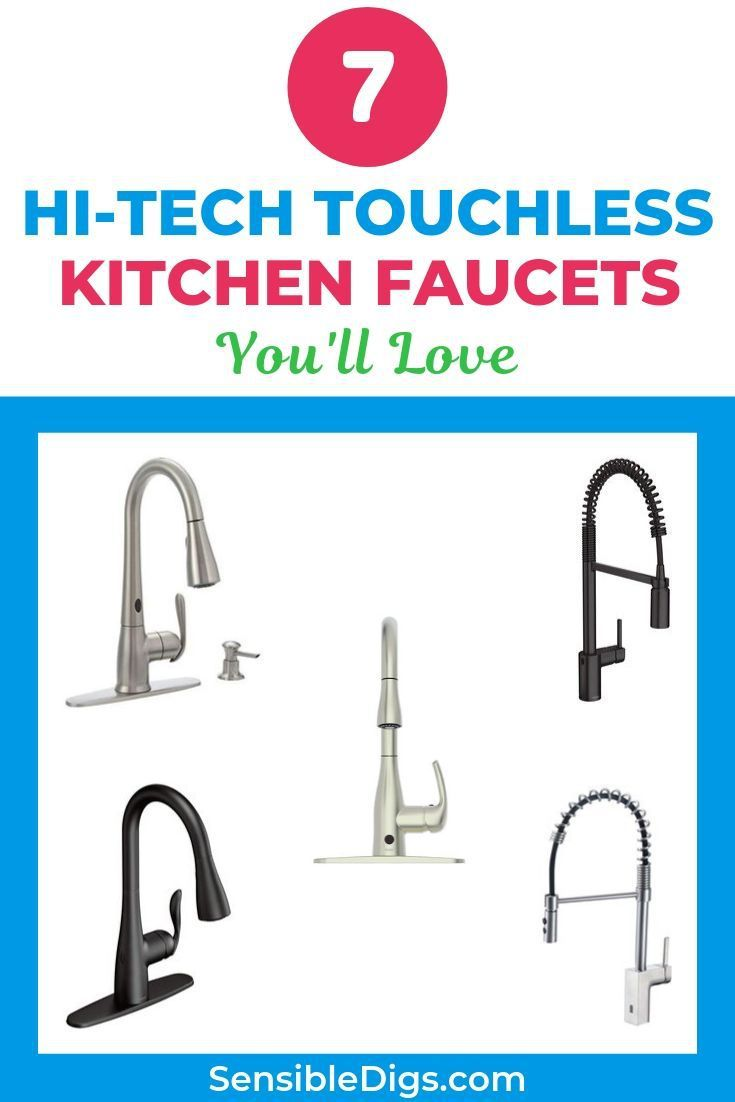 If you\'re used to a regular old kitchen faucet, a touchless ...