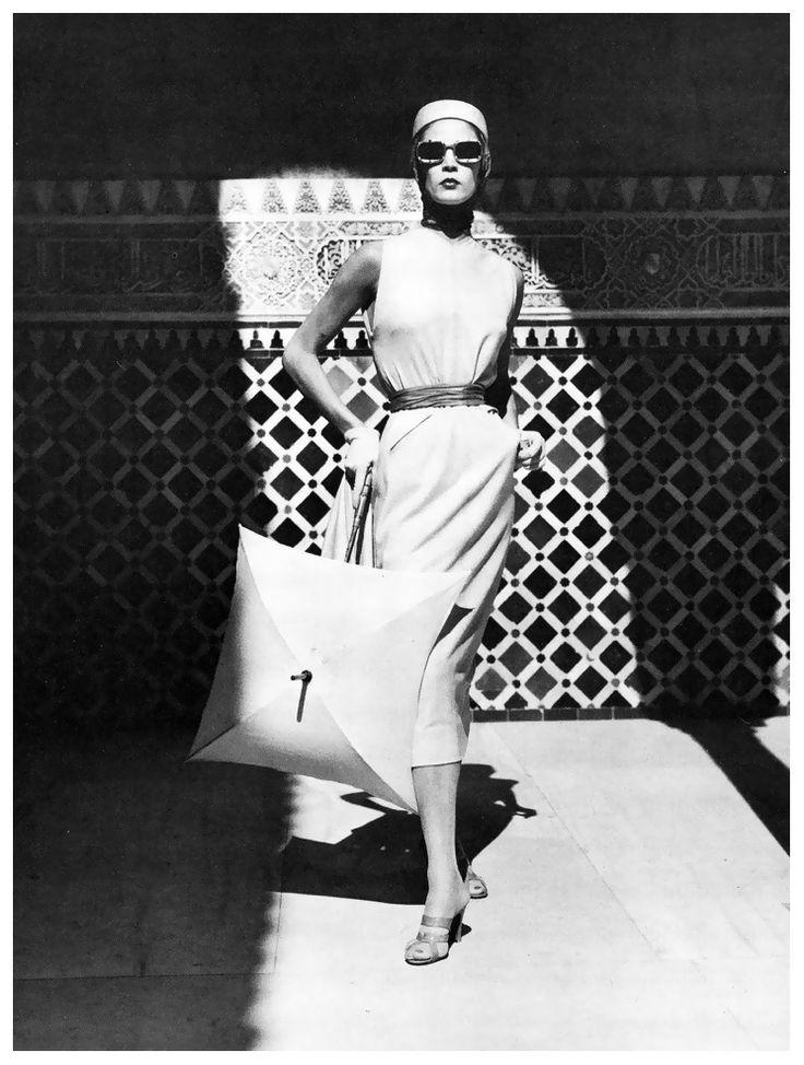 Jean Patchett a Granada, Spagna, 1953