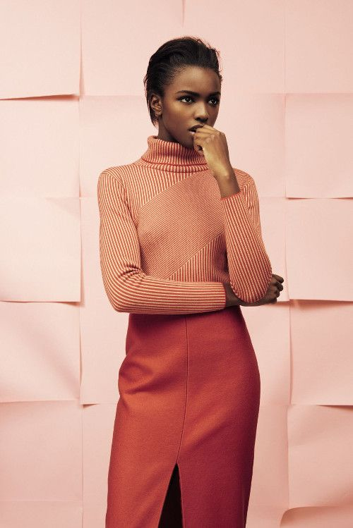 lucesolare: Leomie Anderson by Rahel Weiss for You Magazine (Wear Color)