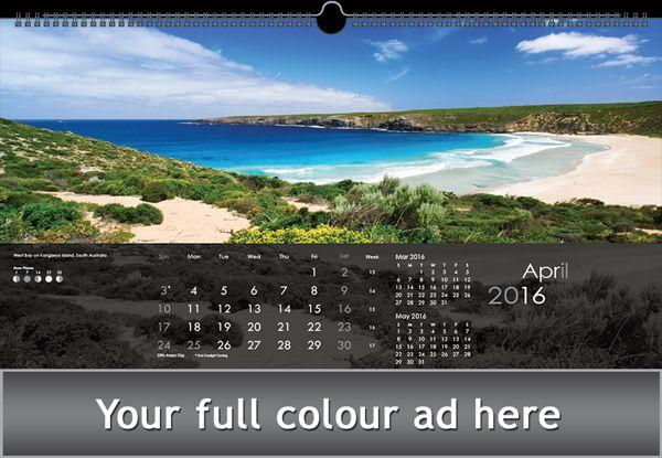 2016 Calendars for Australia