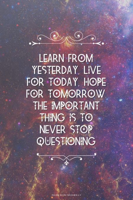 Learn Live Hope Albert Einstein Removable Wall Quote Decal ...