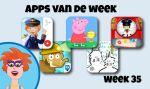 Apps van de week: week 35 – leuke en leerzame apps voor kinderen