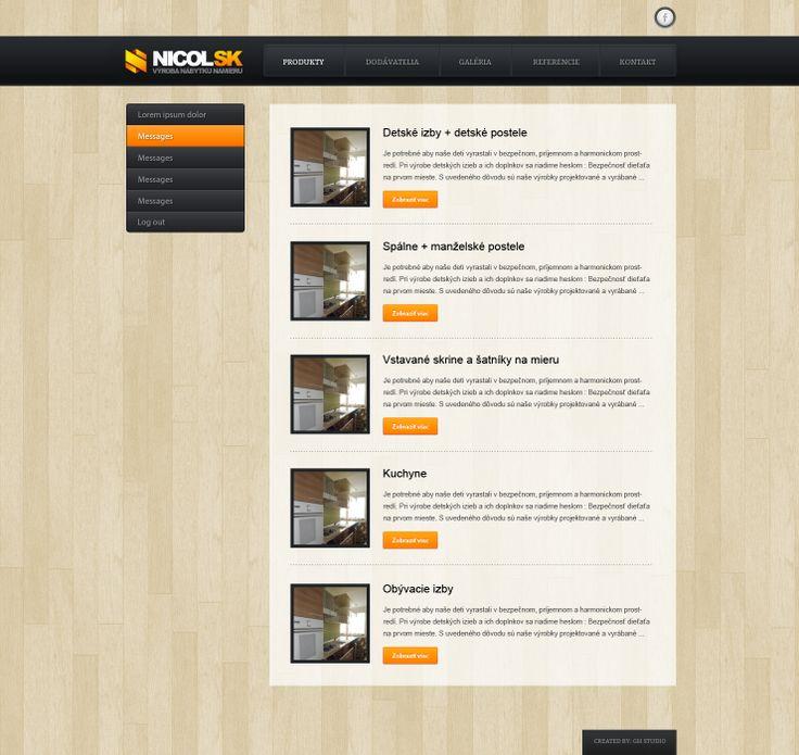 Webdizajn - nicol.sk