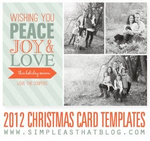 Digital Christmas Cards Templates Boatjeremyeatonco - Free photo christmas card templates