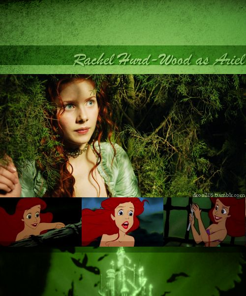 Disney DreamCast--Rachel Hurd-Wood as Ariel (The Little Mermaid)
