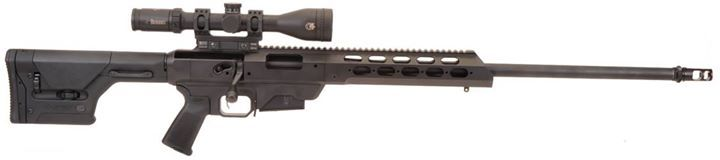 """https://www.realguns.com/articles/927.htm/ Remington's Model 700 Tactical Chassis - One big ass 308  """"...What to do with a really big rifle…  The Remington Model 700 Tactical Chassis is offered in several variations for military, law enforcement and civilian applications. The product is available in 308 Winchester, 300 Winchester Magnum and 338 Lapua Magnum. The 308 Winchester cartridge based system have a maximum effective range of 1000 meters. The 300 Winchester Magnum version extends…"""