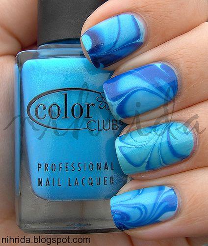 Style It Girl: Marble Nail Art