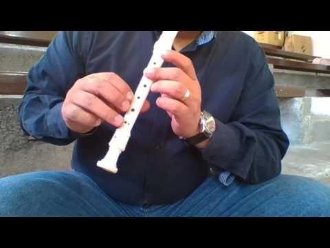 Cantos en Flauta Dulce: Notas Creo en ti Jesús