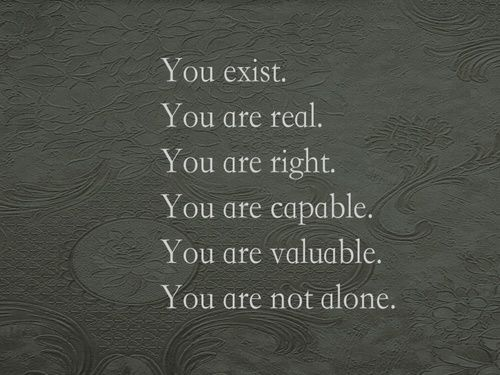You are not always right, but these other things are true _regardless_ of that fact.
