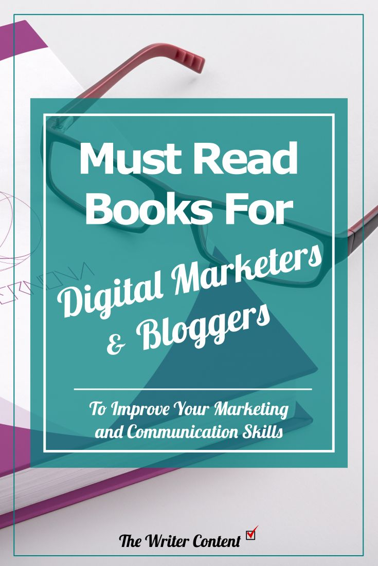 Must read books for digital marketers and bloggers