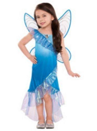 Toddler Disney Fairy Silvermist Halloween Costume 3 4 Girls Blue Fairy | eBay