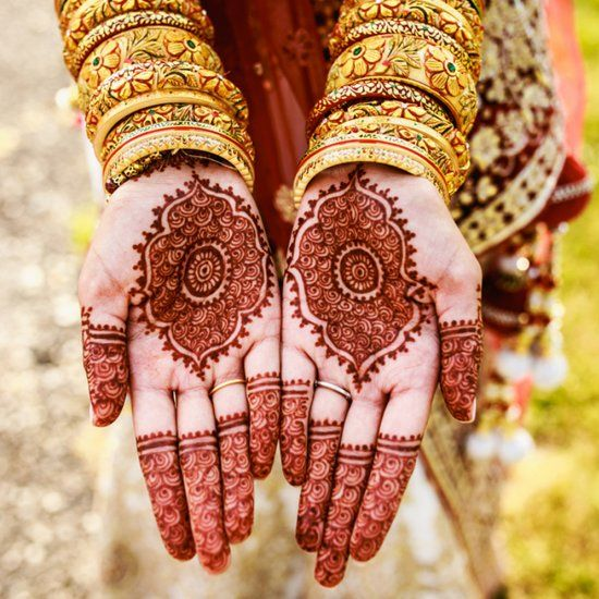 Henna Tattoo For Indian Wedding: This Couple's Traditional Indian Wedding Is Amazing, From