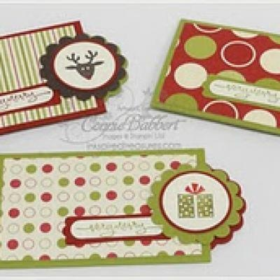 Gift Card Holders {Homemade Gift Wrapping}