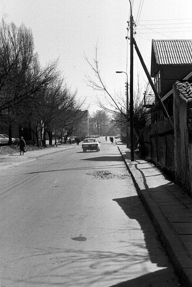Ulica Łąkowa 1983 r. fot. Wojciech Przeklasa www.rowerempopodlasiu ...