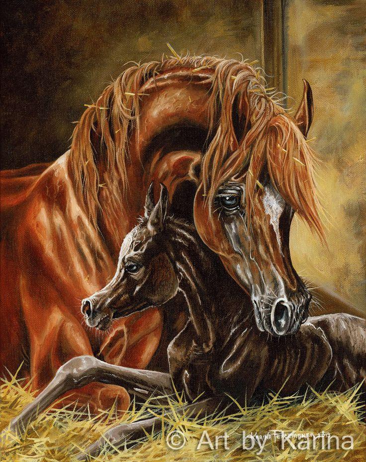 78 best Art By Karina | Arabian horse artist Karina ...