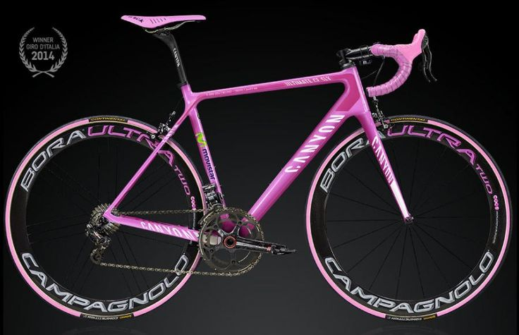 Canyon release limited edition pink Giro d'Italia replica Ultimate CF SLX bike | road.cc