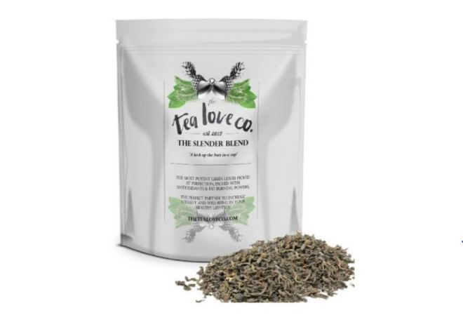 Slender Blend Detox and Weight Loss Tea by The Tea Love Co Review #tealoveco #review