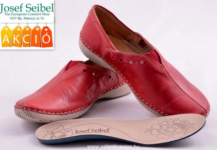 Josef Seibel női lábbeli akciós áron vásárolható vagy rendelhető a készlet erejéig :)   www.valentinacipo.hu/josef-seibel/noi/piros/zart-felcipo/142655440    #josef_seibel #Seibel_webshop #Valentina_cipőboltok