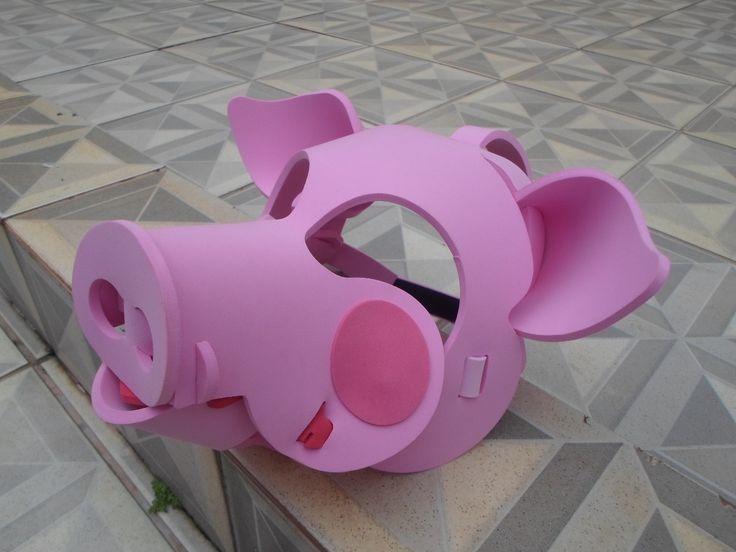 mascara porco , peppa