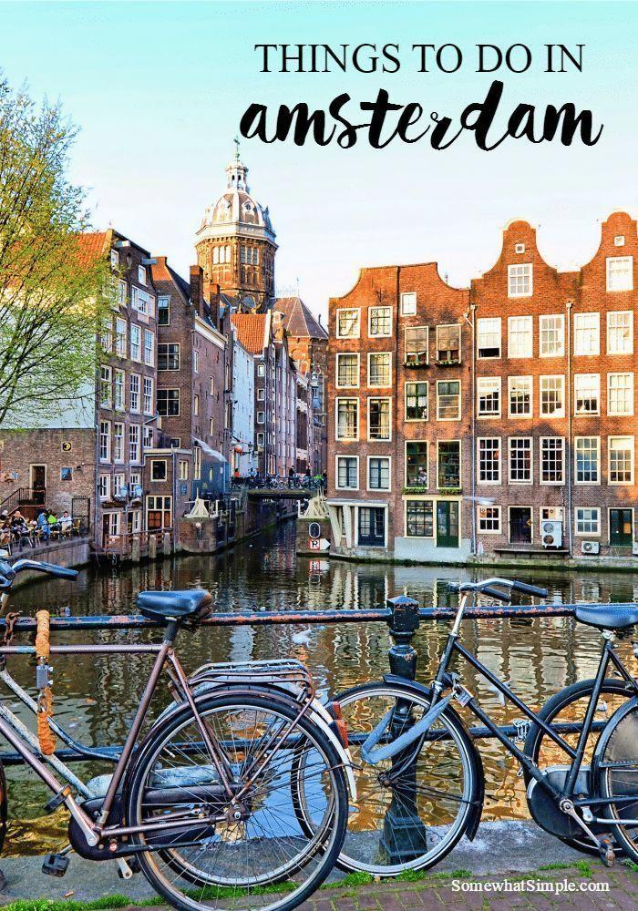 Амстердам на открытках