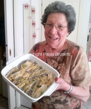 La cucina di ❀ Paola Brunetti ❀: Alici fresche al forno con pangrattato e prezzemolo, ricetta di mia mamma