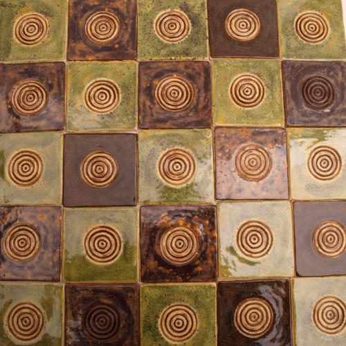 handmade tiles, dekory ścienne robione ręcznie 10x10cm