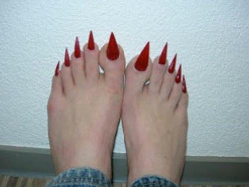 Pinterest the world s catalog of ideas for Acrylic toe nails salon