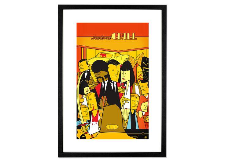 Pulp Fiction von Ale Giorgini, 42 x 59cm (A2) Gerahmte Kunstdrucke - MADE.COM Jetzt bestellen unter: https://moebel.ladendirekt.de/dekoration/bilder-und-rahmen/poster/?uid=ea8c877b-9661-5069-87f1-a28f43b7a159&utm_source=pinterest&utm_medium=pin&utm_campaign=boards #bilder #rahmen #poster #gerahmte #dekoration #kunst