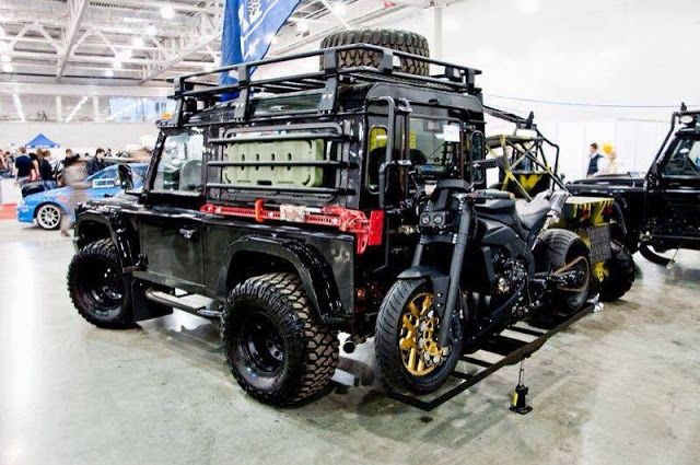 Land Rover Overland Expedition - Offroad 4x4 - Cool Photos