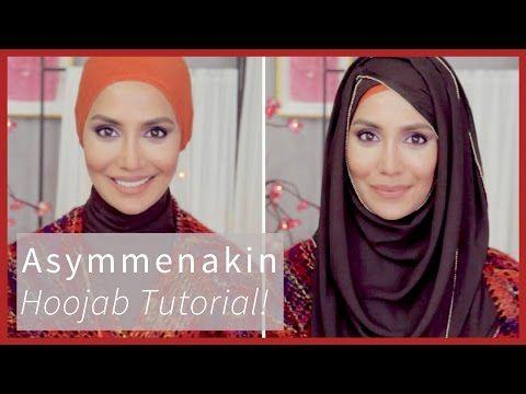 #ASYMMENAKIN HOOJAB TUTORIAL! | Amena - YouTube