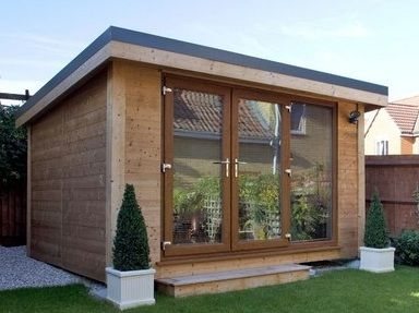 Sheds That Are Popular These Days U2014 Modern Sheds. Flat Roof ...