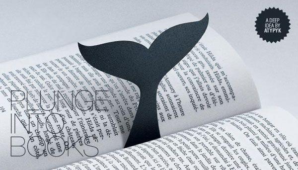 baleine marque-page