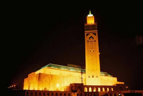 Muslim temple in Casablanca, Morocco.  Amazing place.  Friend Judy and I visited on our Italian cruise.  We prayed through the entire temple.